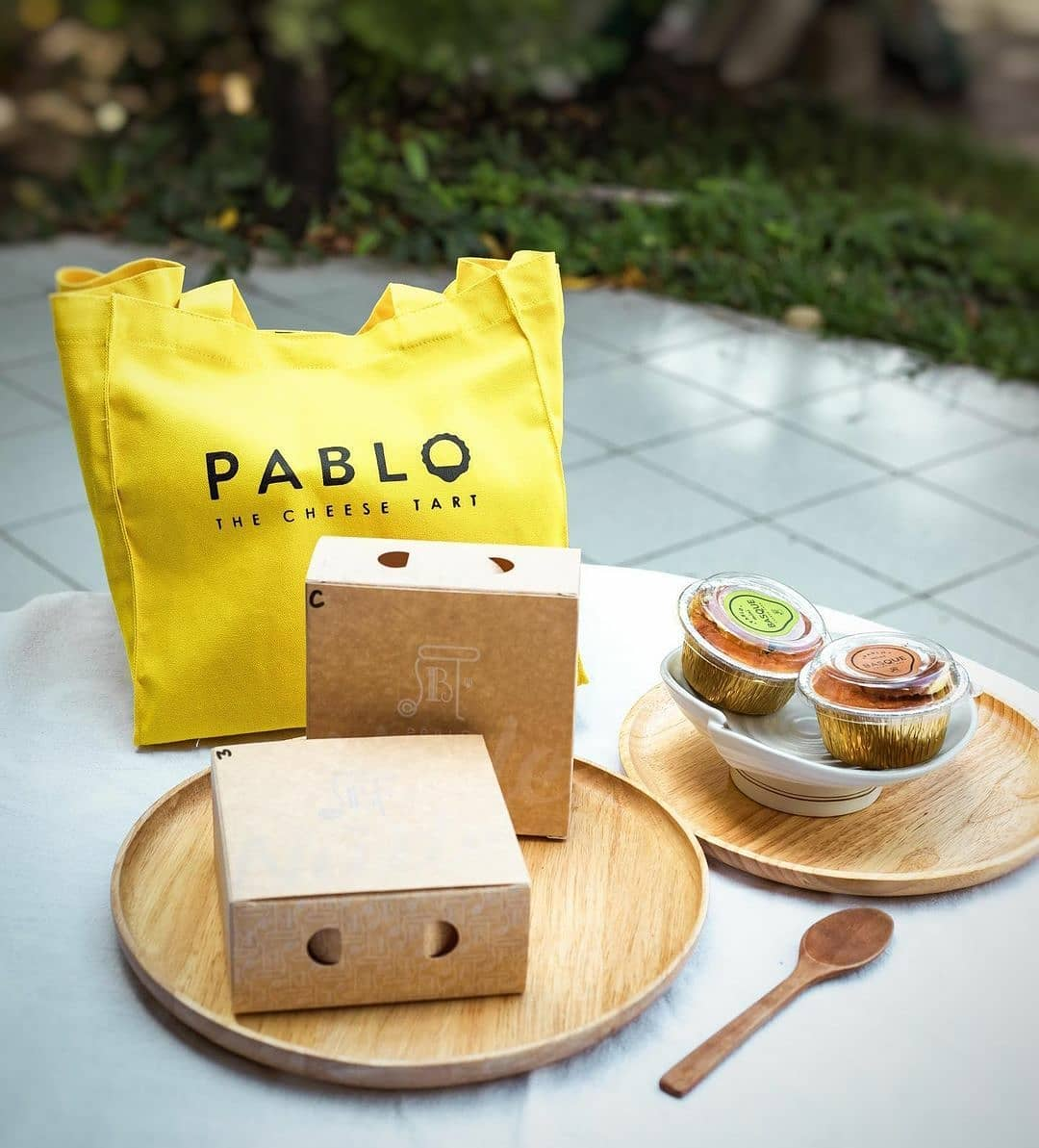 Pablo Cheese Tart Delivery